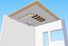 Gypsum False Ceiling Design With Wooden Rafters Gypsum False Ceiling Beauté With Wooden Rafters Racine by allbouch Wooden Ceiling Design, Plaster Ceiling Design, Simple False Ceiling Design, Gypsum Ceiling Design, House Ceiling Design, Ceiling Design Living Room, False Ceiling Living Room, Bedroom False Ceiling Design, Wooden Ceilings