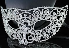 Rhinestone Mask.. Can we say Masquerade Ball!!