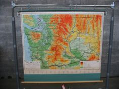 Nystrom School Map of Washington | Second Use, Seattle: Building Materials, Salvage, & Deconstruction