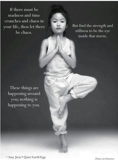 Yoga & Meditating daily, helps restore your body.