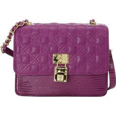 Anne Klein Wear It Well Crossbody Magenta/Magenta - Anne Klein Manmade Handbags