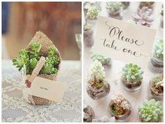 La Organización, La Fiesta - 5 ideas de souvenirs eco-friendly - Casamientos Online