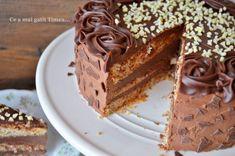 Tort cu alune ciocolata si rom - Retete Timea Something Sweet, Tiramisu, Biscuits, Cheesecake, Food And Drink, Ethnic Recipes, Desserts, Romania, Cakes