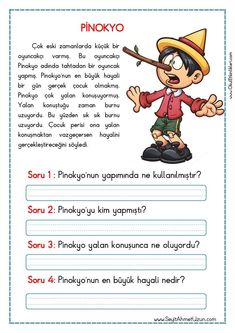 Turkish Lessons, Learn Turkish Language, Reading Passages, Stories For Kids, Short Stories, Foreign Languages, First Grade, Special Education, Activities For Kids