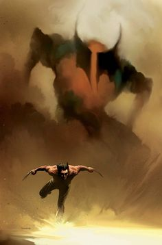 Wolverine by Richard Isanove #RichardIsanove #Wolverine #Logan #Avengers #XMen #WeaponX