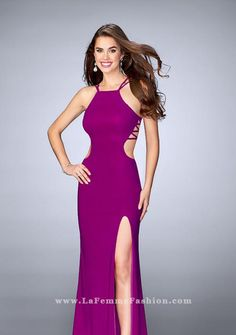 aeadc1122b58 La Femme 24443 Prom Dress Shopping, Prom Party, Formal Evening Dresses, Homecoming  Dresses