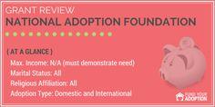 National Adoption Foundation Adoption Grant