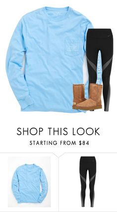 """What's your dream vacation?"" by stripedprep ❤ liked on Polyvore featuring Vineyard Vines, NIKE and UGG Australia"