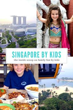 With five recent trips to Singapore under their belts these two kids are pitching their individual cases on what they consider the absolute best things for kids to do when visiting Singapore