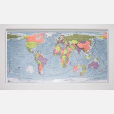Just bought this with the credit I accrued from telling my friends about how great FAB.com is to shop RT Paper Map 47x26 Lemon now featured on Fab.