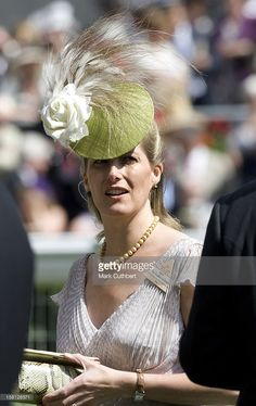Sophie The Countess Of Wessex Attending The First Day Of Royal Ascot At Ascot Racecourse In Berkshire. (Photo by Mark Cuthbert/UK Press via Getty Images)
