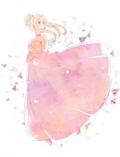 Fairy Tail -- Lucy looks so beautiful in this picture!