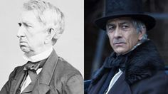 """William Seward, Secretary of State (1861-1869) in the Lincoln Administration.  David Strathairn in the film """"Lincoln""""."""