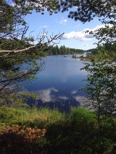 Inari lake , Lapland , Finnmark, Finland