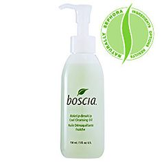 Boscia Make-Up Break-Up Cool Cleansing Oil - great at removing eye makeup without leaving an oily residue.