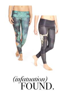 Teeki activewear is designed using recycled water bottles. Ethereal designs + earth-conscious construction? Perfect for a peaceful yogi mind. #namaste #yoga
