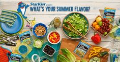 Find your summer flavor and get $.75 off two StarKist Tuna Creations ® Pouches! Discover all that you can do with tuna. #thatsNewSchool
