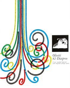 Giovanni Pintori 82 Diaspron Advertisement