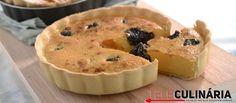 Receita de Tarte de ameixas secas. Descubra como cozinhar Tarte de ameixas secas de maneira prática e deliciosa com a Teleculinária!