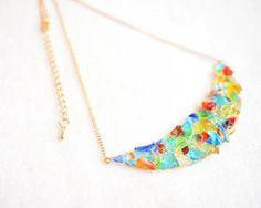 琉球ガラスのビタミンカラーネックレス