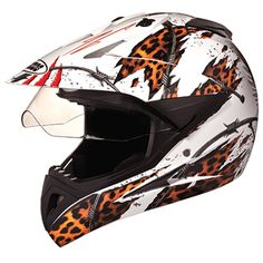Outer Shell injected from special high impact grade of engineering thermoplastic. Multiposition articulating optically true injected polycarbonate visor duly silicon hard coated for scratch resistance properties. regulated density EPS concussion padding lined with specially treated anti allergic velveteen. The helmet is equipped with a second sun visor which is made from tinted Polycarbonate & is duly silicon hard coated. Removable and replaceable liners. Full Face Helmets, Motocross, Offroad, Amazon, D1, Engineering, Shell, India, Amazons