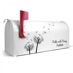Briefkasten mit Wunschtext   banjado Manufaktur Container
