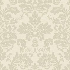 Gran Deco Hyde Park Wallpaper - Cream at Homebase -- Be inspired and make your house a home. Buy now.