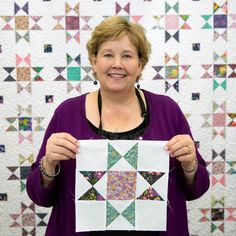 is such an easy way to make the Ohio Star Quilt! Free Video Tutorial with Jenny Doan from Missouri Star!This is such an easy way to make the Ohio Star Quilt! Free Video Tutorial with Jenny Doan from Missouri Star! Star Quilt Blocks, Star Quilt Patterns, Star Quilts, Easy Quilts, Missouri Star Quilt Pattern, Block Quilt, Canvas Patterns, Quilting Tips, Quilting Tutorials