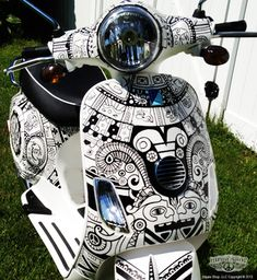 phish vespa - saw these at SPAC they were really cool