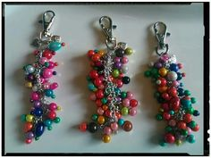 Gorgeous key-rings by Jamie's Jangles. https://www.facebook.com/pages/Jamies-jangles