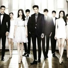 The big picture  (group pic ) ; the heirs : love this pic