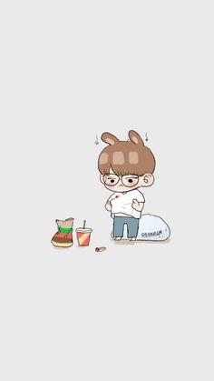 FanArt - BTS: JungKook [100717] por @deokrim no Twitter ℓιкє тнιѕ ρι¢? fσℓℓσω мє fσя мσяє @αмутяαи444