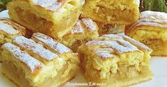 Szőttes almás pite, mióta megkóstoltuk, ez lett a legújabb kedvencünk! Slab Pie, Ice Cream Pies, Pie Recipes, Apple Pie, Cornbread, Nutella, French Toast, Deserts, Food And Drink
