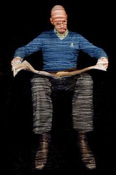 """サーチアートアーティストドミニク・ハリス。 写真、「シュテフェン(シリーズから「ライトペン肖像 ') - 限定版第2位10の """"#art"""