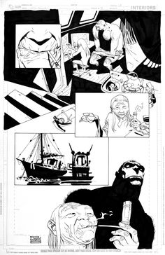 Eduardo Risso | SPACEMAN | Issue 6 Page 17 Comic Art