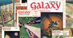 El Descanso del Escriba: Galaxy Science Fiction Magazine (1950-76) en Archi...
