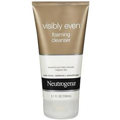 Neutrogena Healthy Skin Visibly Even Foaming Cleanser, 5.1 oz - Walmart.com