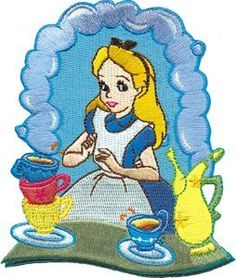 Disney Alice in Wonderland Alice Tea Party
