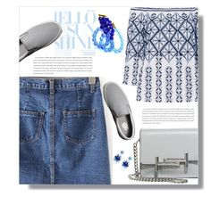 """""""Hello Sunshine"""" by tinayar ❤ liked on Polyvore featuring Miguelina, Tod's, Vans and Oscar de la Renta"""