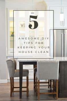 5 Awesome DIY Tips for Keeping Your House Clean | hotandsourblog.com