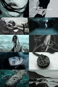 Gemini + Sea Witch Aesthetic ; requested by anon - Aesthetic Boards