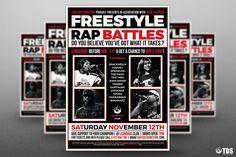 Freestyle Rap Battle Flyer Template V.6