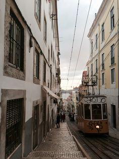 travelingcolors:  Ascensor da Bica, Lisbon | Portugal (by Nacho Coca)