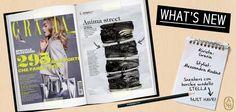 E' in edicola Grazia con la sneaker Stella di Ash in tinta nera intensa impreziosita dalle borchie metalliche all over!  #ashitalia