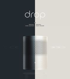 Drop : Personal Work Assistant on Behance Industrial Design Portfolio, Industrial Design Sketch, Portfolio Design, Portfolio Layout, Portfolio Ideas, Web Design, Page Layout Design, Website Design Inspiration, Presentation Board Design