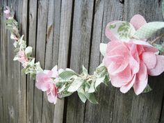 I will be making this garland for Avery's Room!