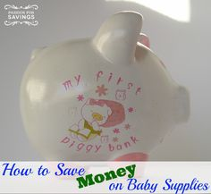 A baby can be expensive! Here are some great tips on how to save money on baby supplies!
