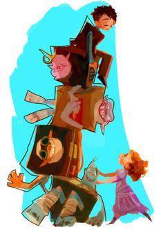 The Box Trolls by Yosb for @Sketch_Dailies