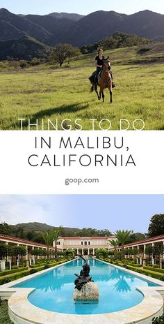Activities and ideas of fun things to do in Malibu, California