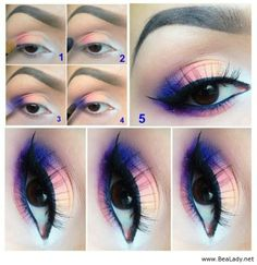 Some Amazing Eyes Make Up Ideas - BeaLady.net